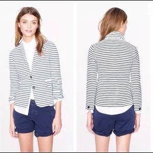 J.Crew Nautical Striped Blazer